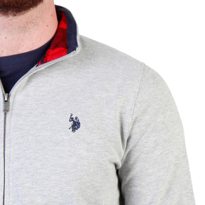 U.S. Polo Bekleidung Sweatshirts grey / S U.S. Polo - 43485_47130 HIRA-fashion