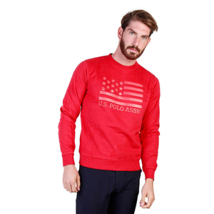 U.S. Polo Bekleidung Sweatshirts red / S U.S. Polo - 43486_47130 HIRA-fashion