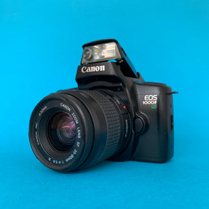 Canon EOS 1000F Fully Auto SLR 35mm Film Camera w/ 35mm-80mm Zoom Lens - Film Camera Store