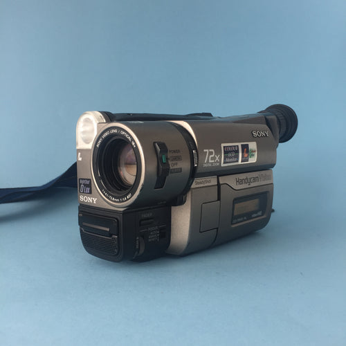 Sony Handycam Vision Video 8 Camcorder Bundle Including BRAND NEW Battery