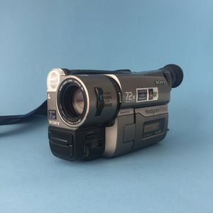 Sony Handycam Vision Video 8 Camcorder Bundle Including BRAND NEW Battery - Film Camera Store