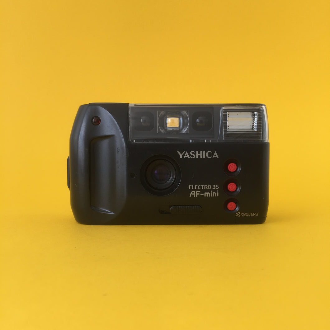 Yashica Electro 35 AF Mini 35mm Film Camera Point and Shoot