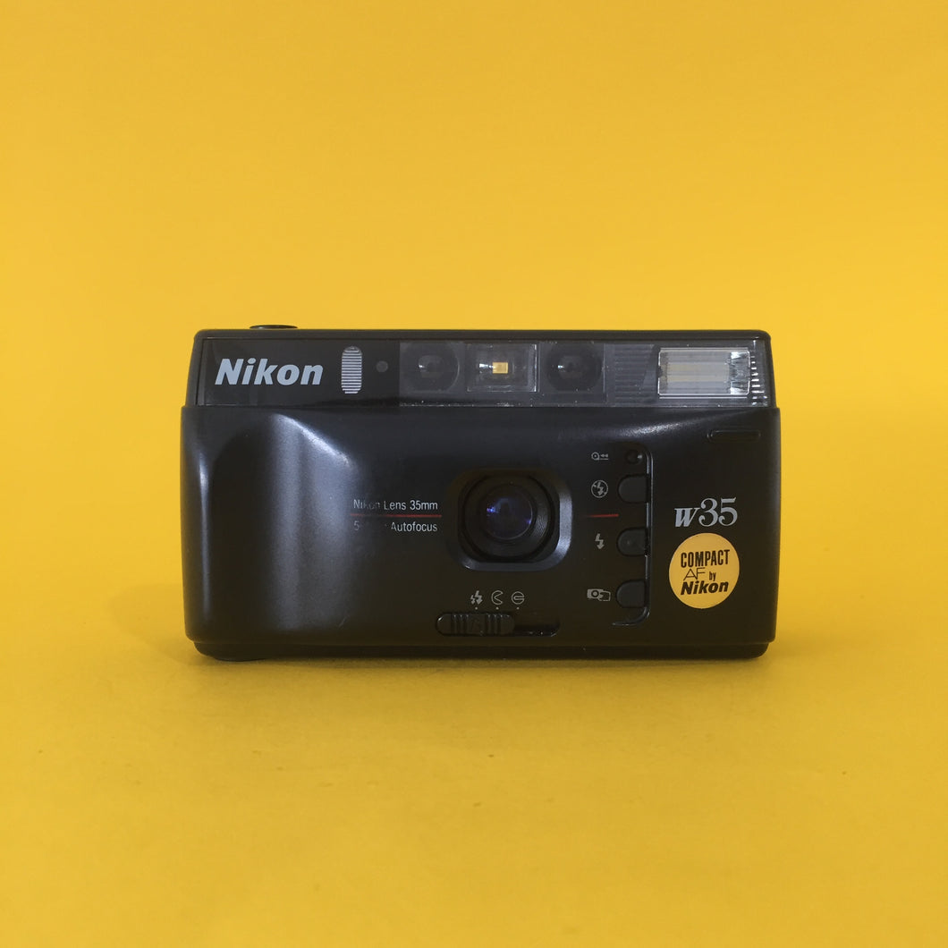 Nikon W35 Point and Shoot 35mm Film Camera - Film Camera Store