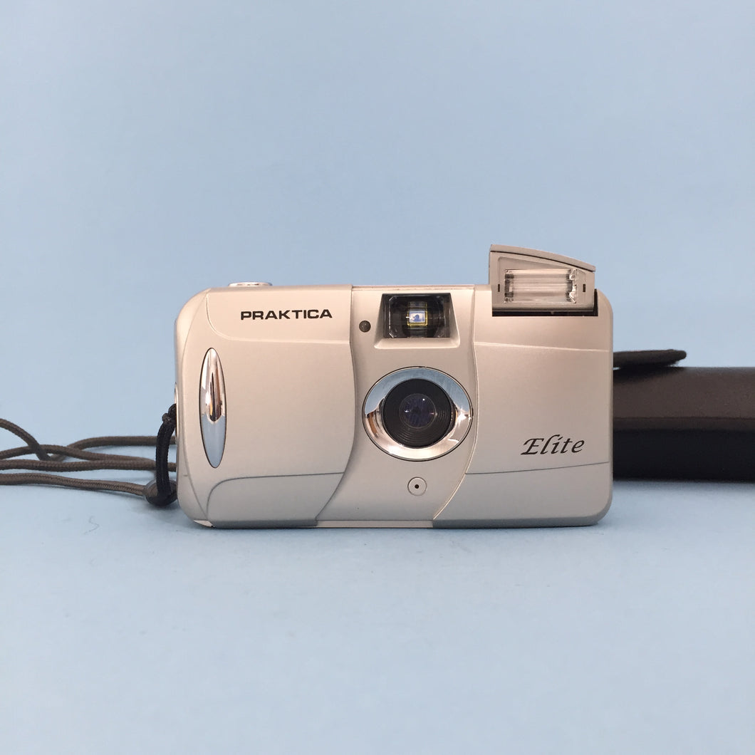 Praktica Elite 35mm Film Camera Point and Shoot