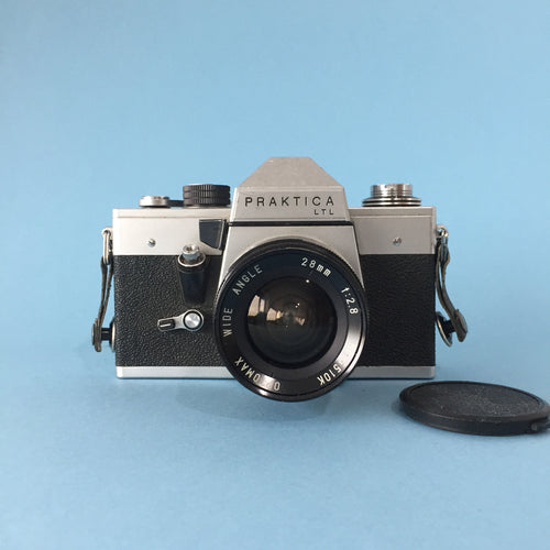 Praktica TLT Vintage 35mm SLR Film Camera