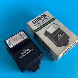 Sunpak Softlite 2000A External Flash Unit for 35mm Film Camera - Film Camera Store