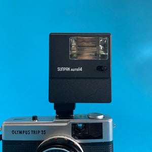 SUNPAK Auto 14 External Flash Unit for 35mm Film Camera - Film Camera Store