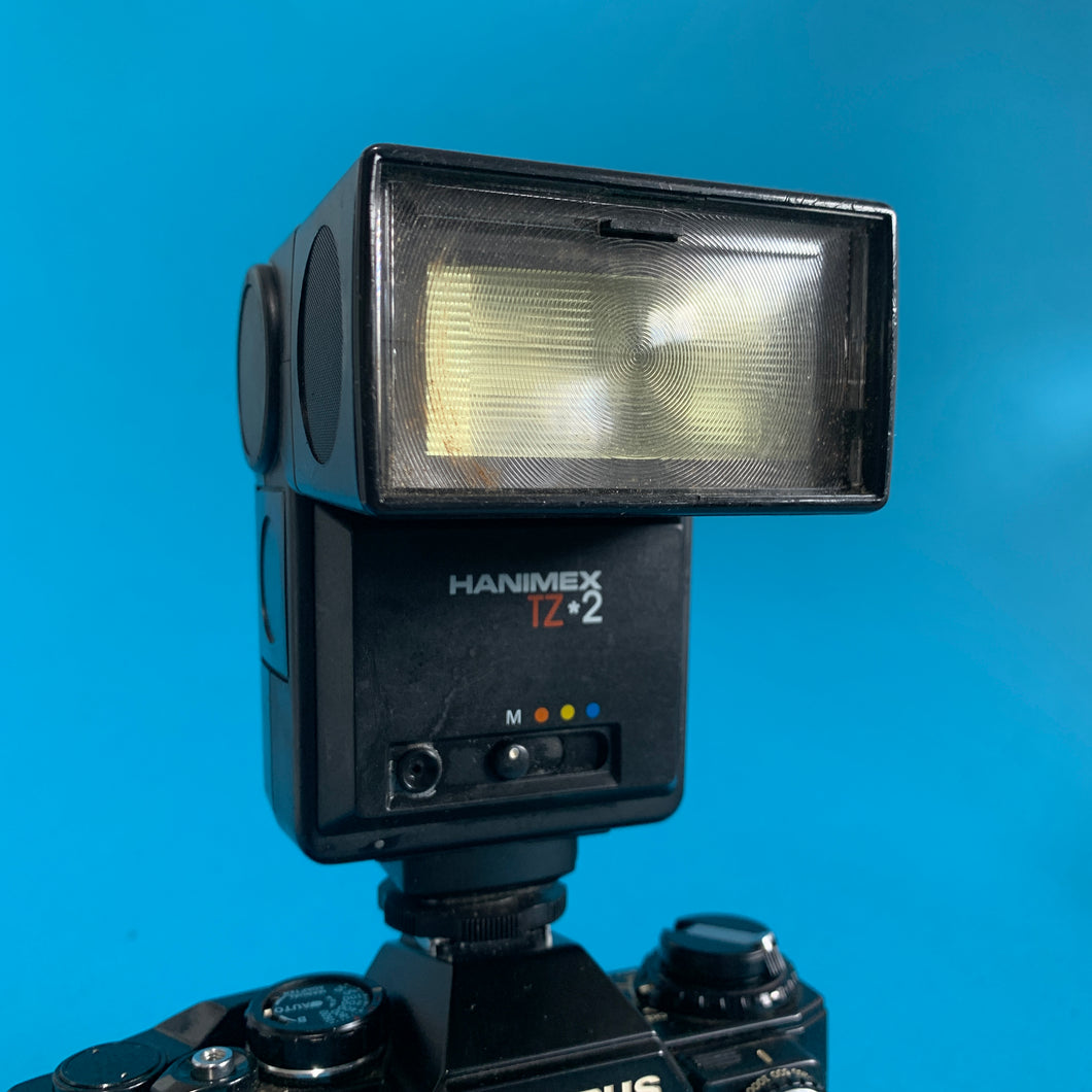 Hanimex TZ 2 External Flash Unit for 35mm Film Camera - Film Camera Store