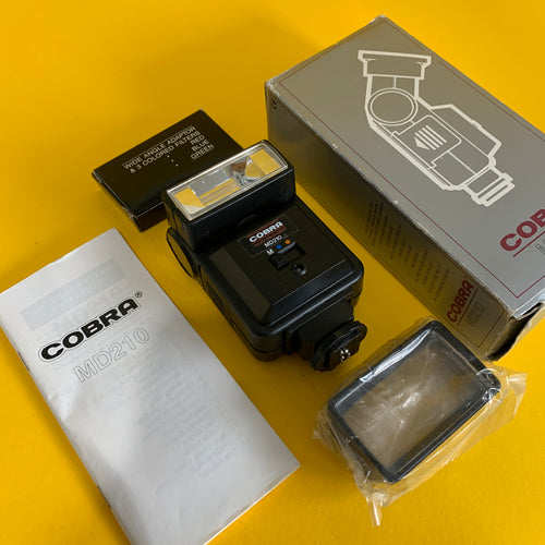 Cobra MD210 External Flash Unit for 35mm Film Camera w/ Box - Film Camera Store