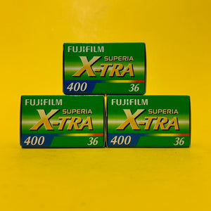 Fujifilm Superia X-Tra 400 36 Exposures 35mm Film - (Set of 3 Rolls) - Film Camera Store