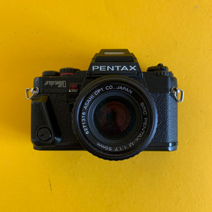 Pentax Program A 35mm SLR Film Camera w/ Pentax Prime Lens - Film Camera Store