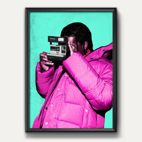 ASAP Rocky Polaroid Film Camera Poster