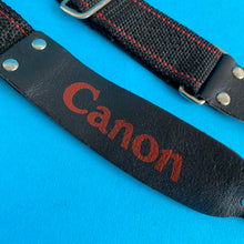 Canon Black & Red SLR Camera Strap - Film Camera Store