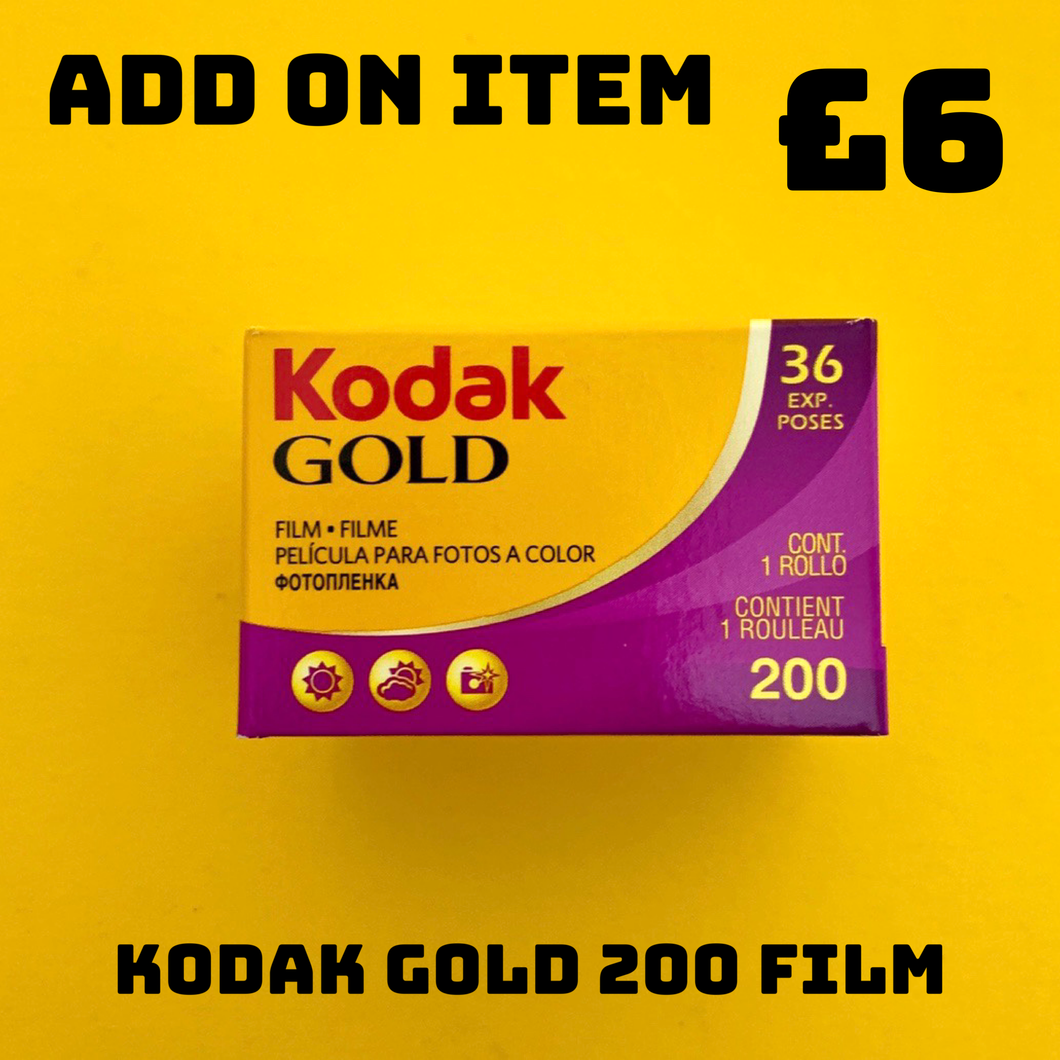 Kodak GOLD 200 36 Exposures 35mm Film - Film Camera Store