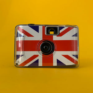 Great Britain Focus Free 35mm Point and Shoot Film Camera Plus Underwater Case & Wrist Strap - Film Camera Store