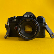 Cosina CT-2 Vintage SLR 35mm Film Camera with f/1.8 50mm Prime Lens - Film Camera Store