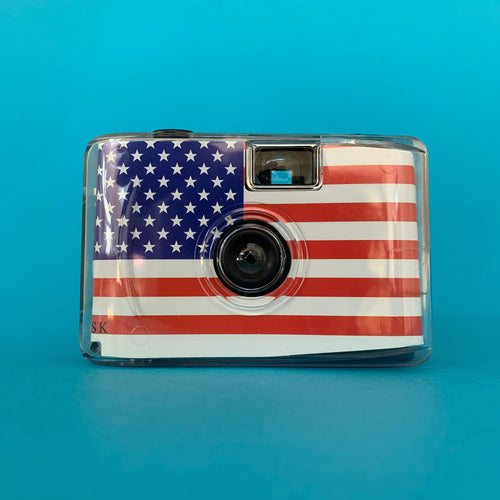 USA Underwater Focus Free 35mm Point and Shoot Film Camera - Film Camera Store