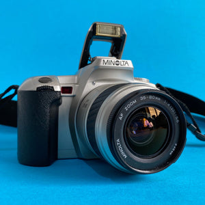 Minolta Dynax 404si AutomatIc SLR 35mm Film Camera with Auto Zoom Lens - Film Camera Store