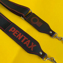 Genuine Pentax Black & Red SLR Camera Strap - Film Camera Store