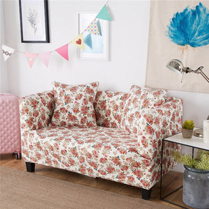 Swell Printing Sectional Sofa Cover Spandex Elastic Stretch Pdpeps Interior Chair Design Pdpepsorg
