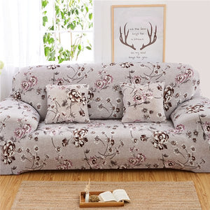 Surprising Printing Sectional Sofa Cover Spandex Elastic Stretch Pdpeps Interior Chair Design Pdpepsorg