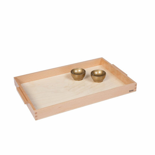 Wooden Tray With 2 Unit Cups 008100