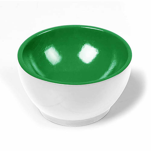 Wooden Cup: White / Green 00950003