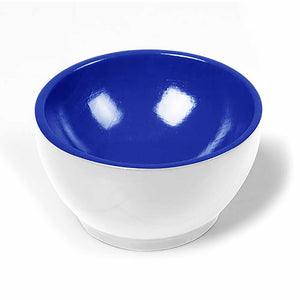 Wooden Cup: White / Blue 00950004