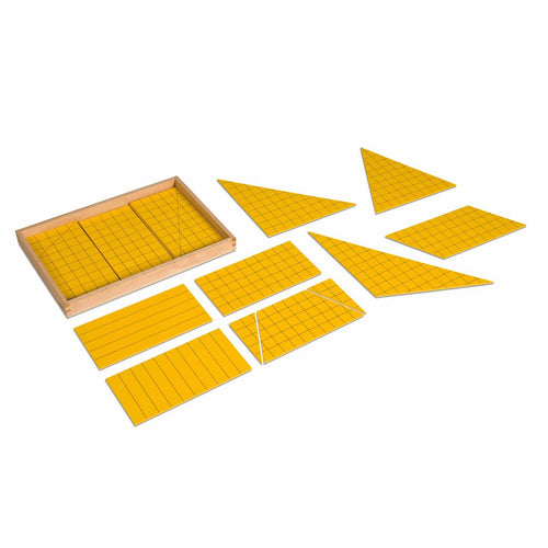 Yellow Triangles For Area 012700