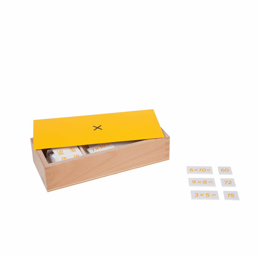 Multiplication Equation And Products Box 014800