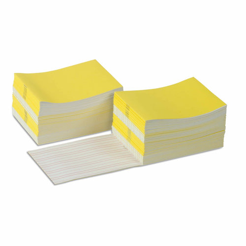 Writing Booklets: Yellow - Large (100) 0166A0