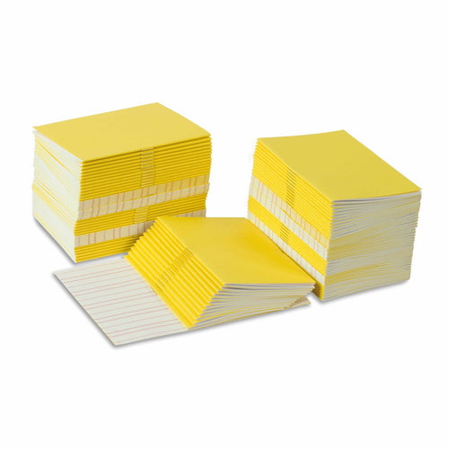 Writing Booklets: Yellow - Small (100) 0166B0