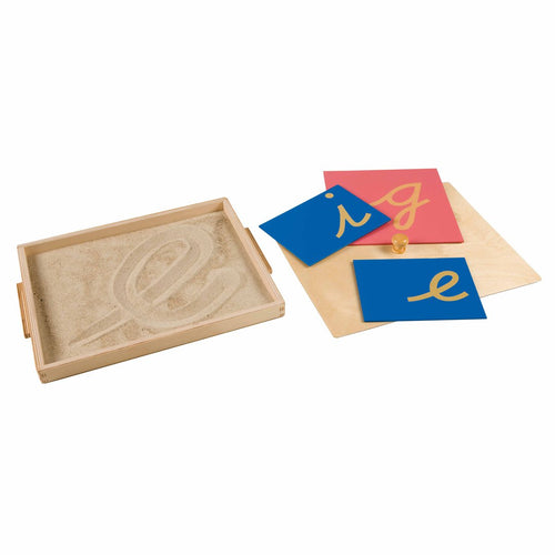 Sandpaper Letter Tracing Tray 040800