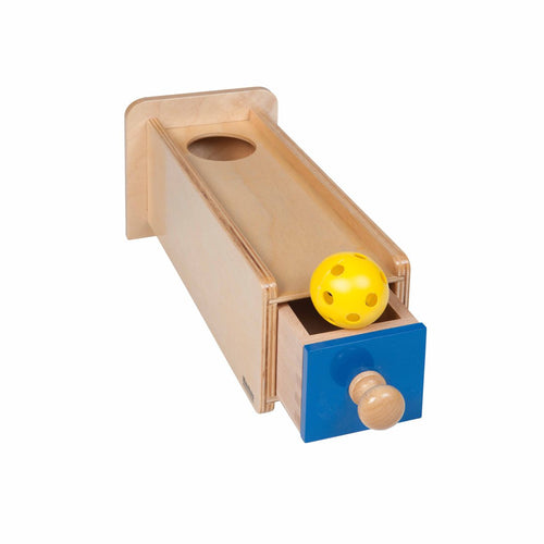 Object Permanence Box With Drawer 041200