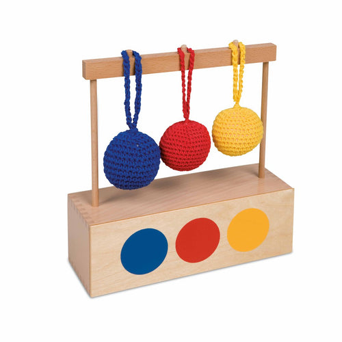 Imbucare Box With 3 Colored Knit Balls 043300