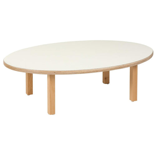 Toddler Group Table: Oval (100 x 62 x 31 cm) 102300