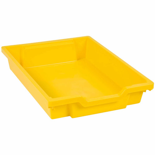 Gratnells Tray: Yellow (7 cm) 189000