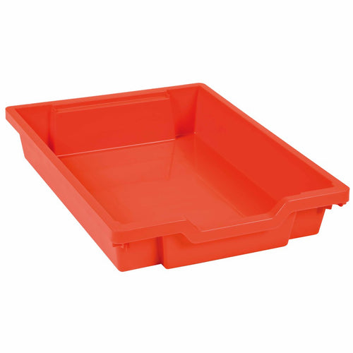 Gratnells Tray: Red (7 cm) 189001