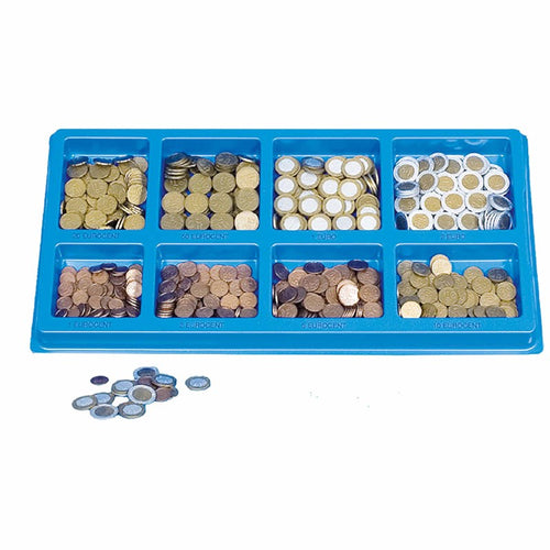 Euro coins sorting tray 2098000