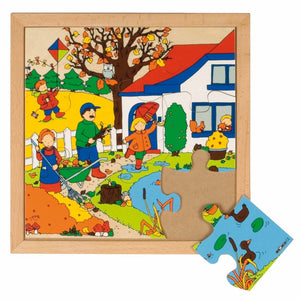 Seasons puzzle 1 - autumn E522857