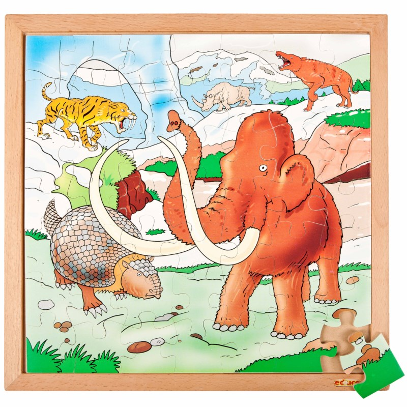 Dino puzzle - in the ice age E523225