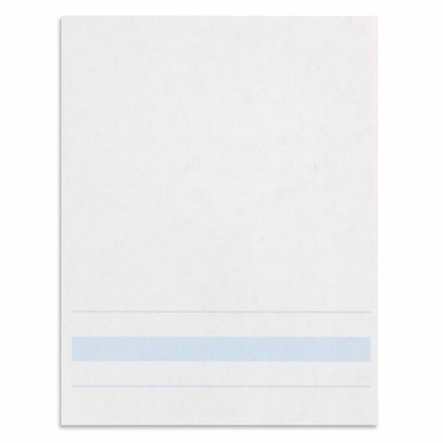 Writing Paper: Blue Lines - 4.25 x 5.5 in (500) 566200