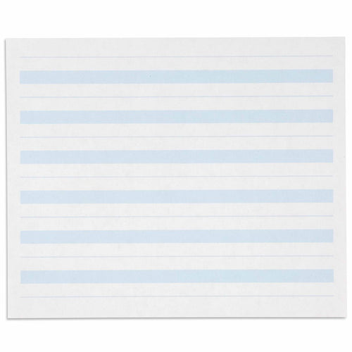 Writing Paper: Blue Lines - 7 x 8.5 in (500) 566400