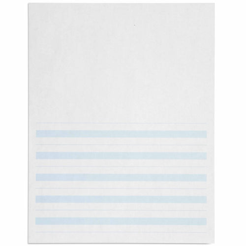 Writing Paper: Blue Lines - 8.5 x 11 in (500) 566500