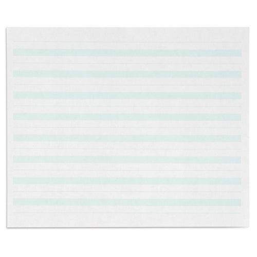 Writing Paper: Green Lines - 7 x 8.5 in (500) 566800