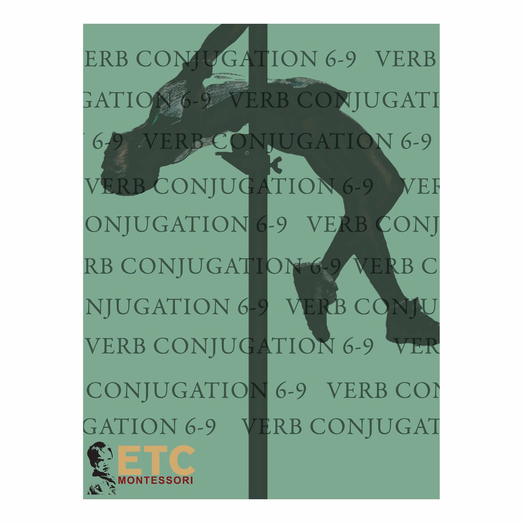 Verb Conjugation Level 6-9 ELC6062