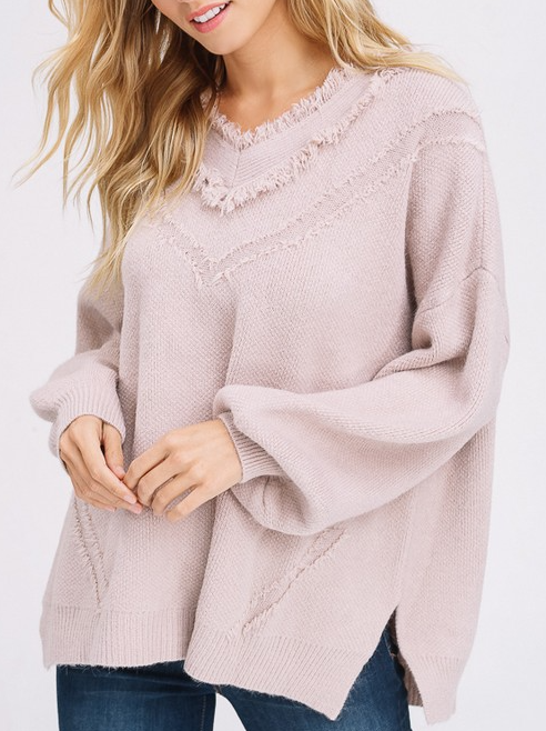 Adalaide Ruffle Neck Sweater