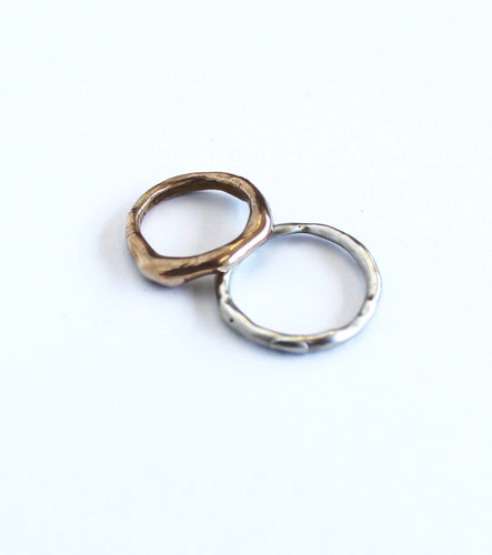 wabi sabi rings - thin