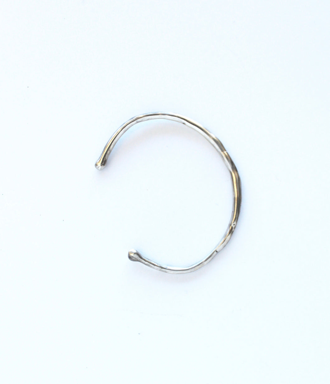 metals :: sterling silver bracelet - thin