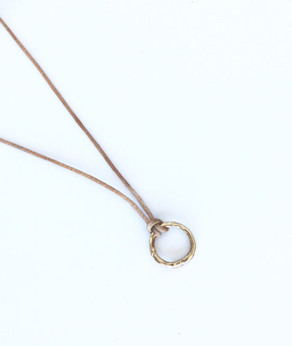 metals :: 14k gold circle of life